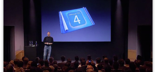 iPhone OS 4.0 Event Keynote video
