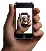 iphone oneindig