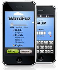 WordFuz op de iPhone