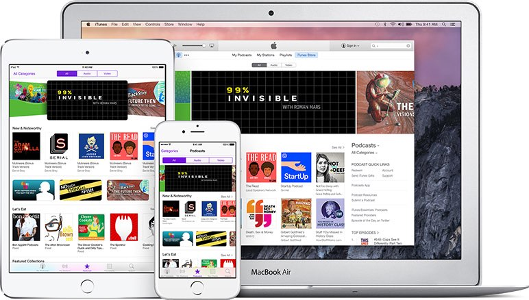 iTunes account op iPad en Mac