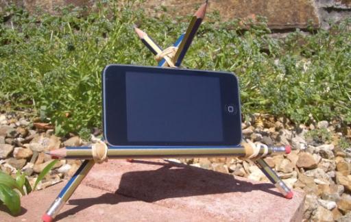 Potlood iPhone houder