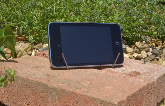 Paperclip iPhone houder