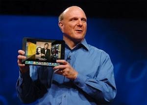 Steve Ballmer met iPad