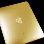 Gouden iPad Logo