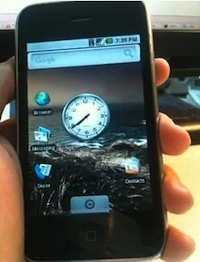 android on iphone