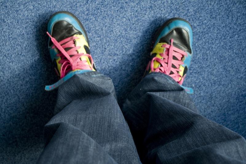 De WTFJeans heeft rechte pijpen