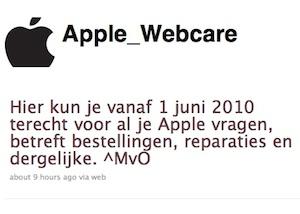 apple webcare