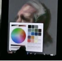 Brushes portretschilderij