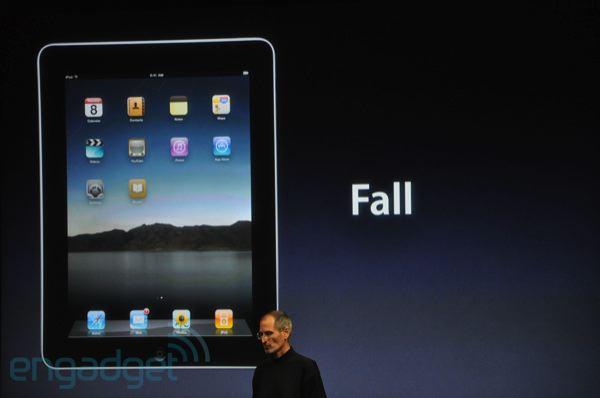 iOS 4 voor iPad dit najaar