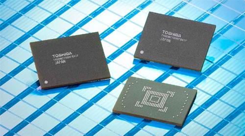 Toshiba NAND-chips