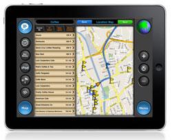 iPad MotionX GPS Drive HD
