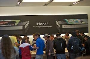 iPhone 4-lancering