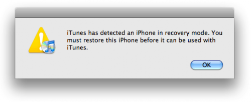 DFU-modus op OS X