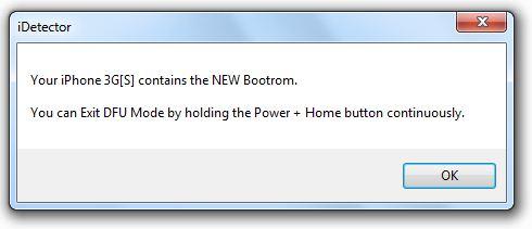 iDetector - New bootrom