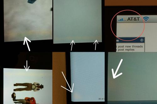 iPhone 4 schermvlekken
