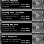 BenchTest iPhone 4