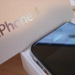 iPhone 4 uitpakfoto 3