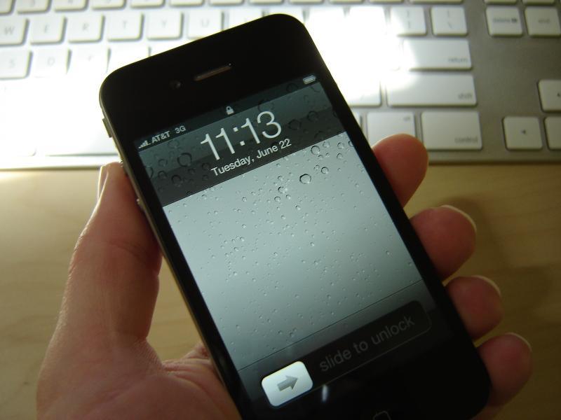 iPhone 4 te vroeg afgeleverd