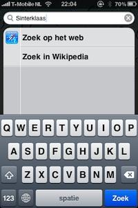 zoeken wikipedia