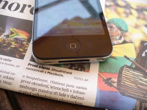 iphone 4 tsjechie