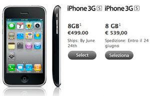 iPhone prijzen