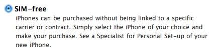 iPhone 4 - UK - Simlockvrij