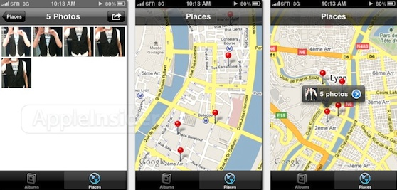 iphone os places