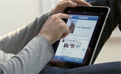 Facebook op de iPad