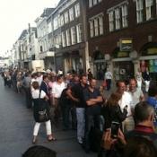 Lancering iPad in Nederland en België: lange rijen (maar niet overal)