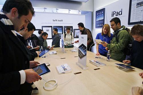 iPad-verkopen