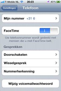 telefoon-facetime-uit