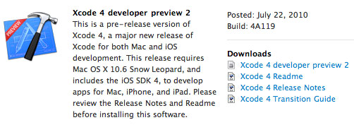 xcode-developer-preview