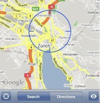 iPhone-locatie