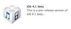 ios 4.1 beta