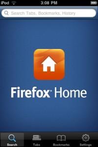 Firefox Home - Splashscreen