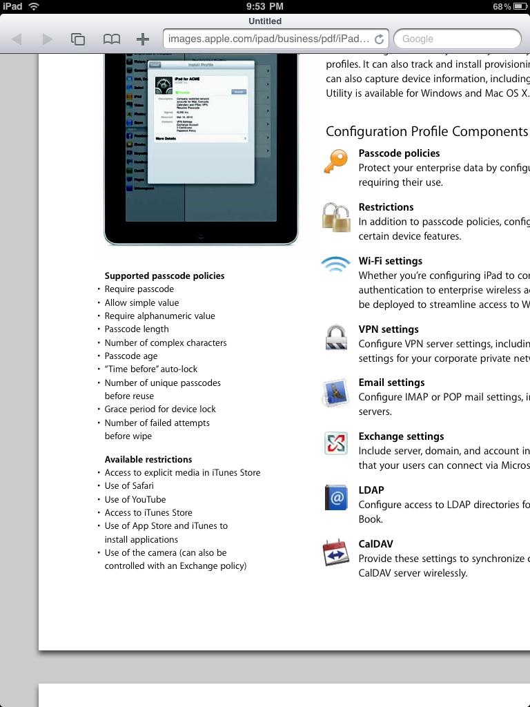 Geruchten over camera in volgende iPad