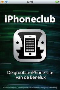 iPc, iPhoneclub applicatie