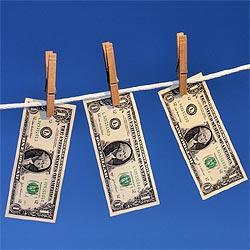 Geld witwassen