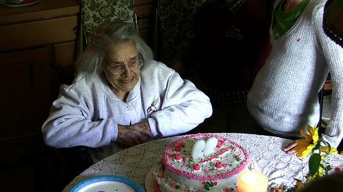 Verjaardag van oma (flickr)