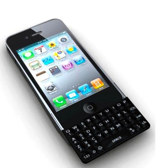 QWERTY iPhone-toetsenbord voor iPhone