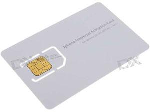 Simkaart Iphone S Activeren