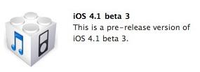 ios 41 beta 3