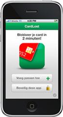 Cardlost digitale portemonnee op je iPhone