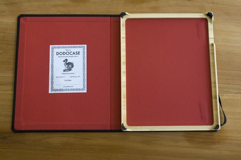 Dodocase zonder iPad erin
