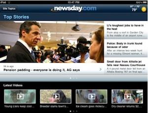 newsday ipad