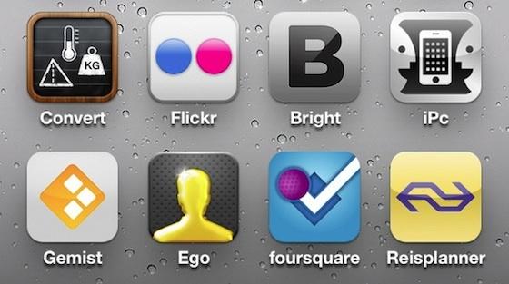 iphone icoontjes