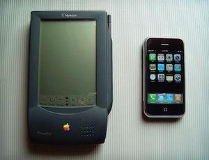 Newton vs iPhone