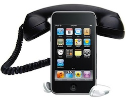 ipod touch telefoon