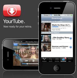 YourTube 2.0 voor iOS 4