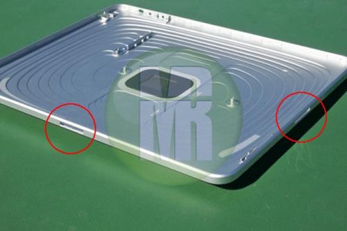 iPad met landscape-dock
